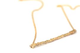 Ketting met gouden takje