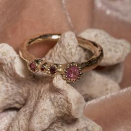 Robijnen ring