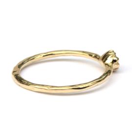 Naoki ring met bruine diamant