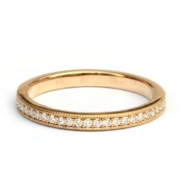 Eternity ring met diamanten