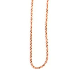 Losse ankerketting 1,3 mm roodgoud, zwaar | 42 - 45 - 50 cm