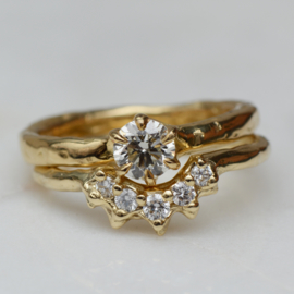 Evelyn Stack Ring