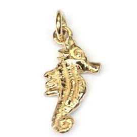 Hanger gouden zeepaardje