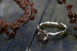Verlovingsring met Canadese ice diamant