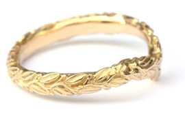 Olivia chevron ring