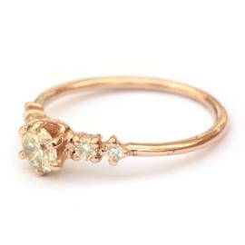 Ring Noralia in roodgoud