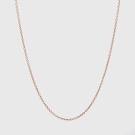 Losse ankerketting roodgoud 1,1 mm | 42 - 45 - 50 cm