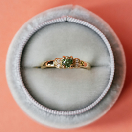 Ring Oda Forest Green