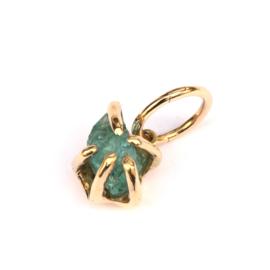 Single earring Apatite