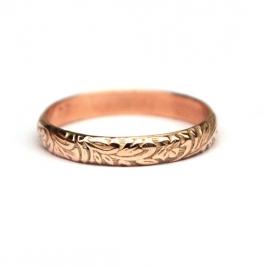 Gouden ring bohemien