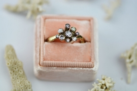 Sunny diamond ring