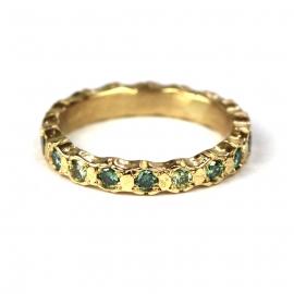 Alliancering met groene diamanten