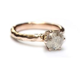 Verlovingsring met Ice diamond