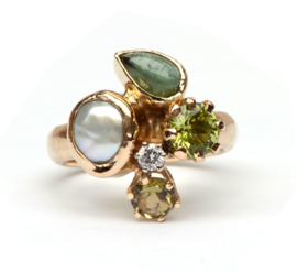 Bouquette ring
