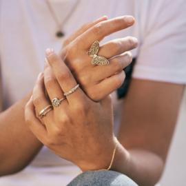 Ring Willa met robijn