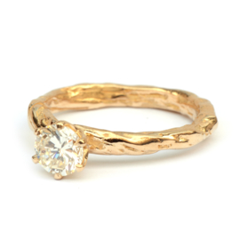 Stoere diamant ring
