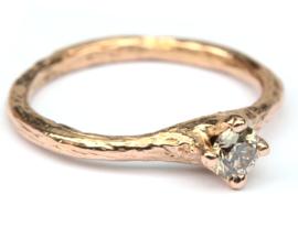 Bosnimf ring in roodgoud GERESERVEERD
