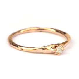 Willa ring in roodgoud