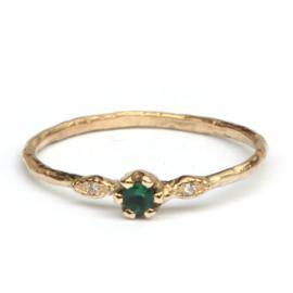 Ring Caro met smaragd