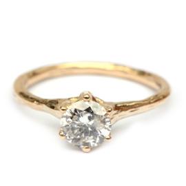 Forest ring met Salt & Pepper diamant