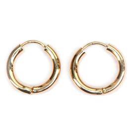 Gouden everyday earrings