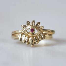 Ring Rainbow Eye