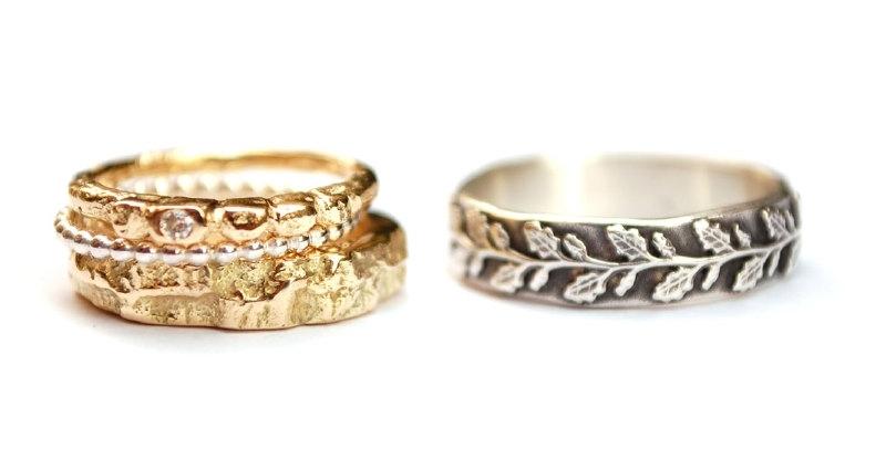 Ringen in opdracht gemaakt van eigen goud