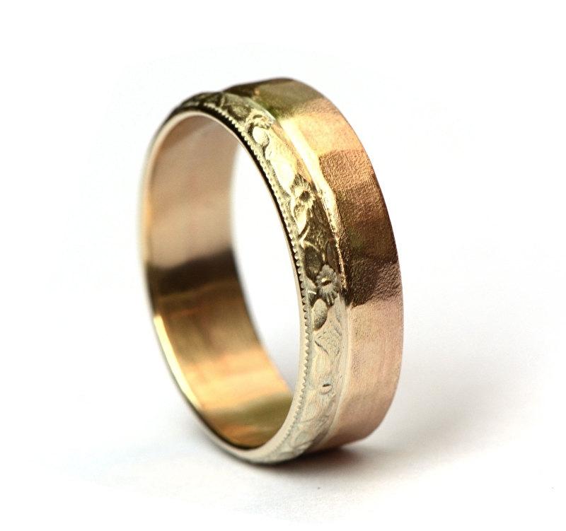 Trouwring van fairtrade goud