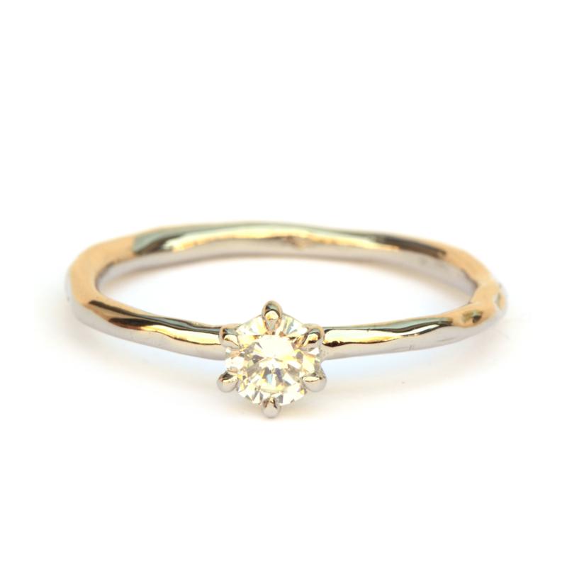 Witgouden Diamant Solitair
