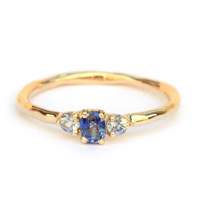 Saffieren ring