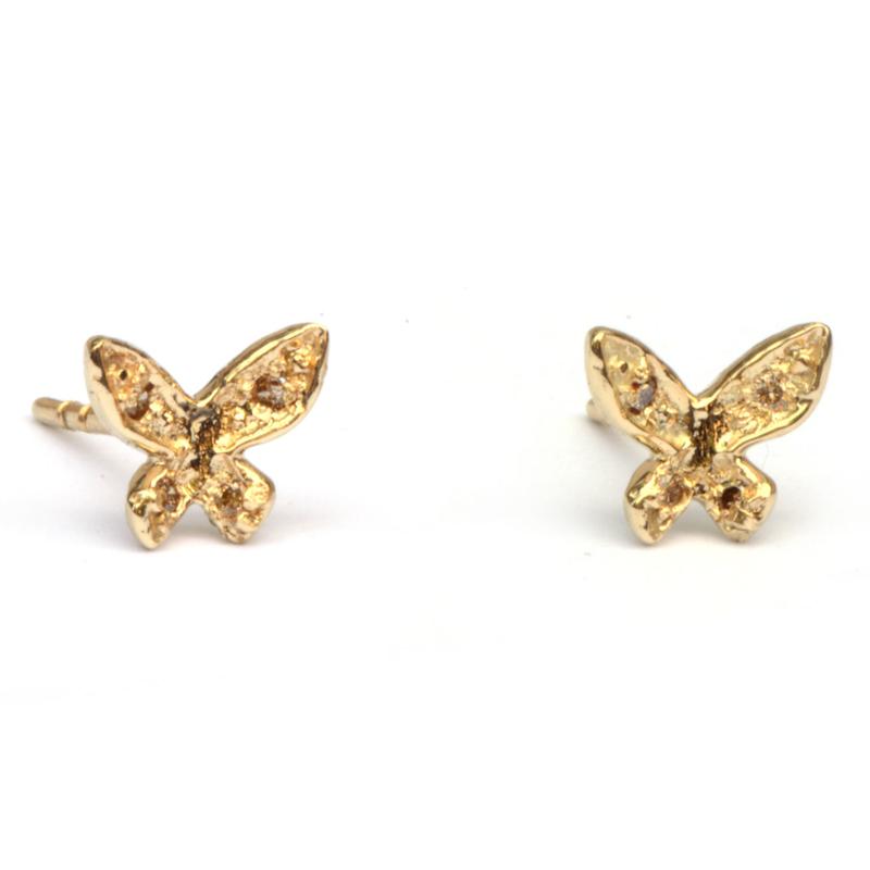 Vlinders met diamantjes groot