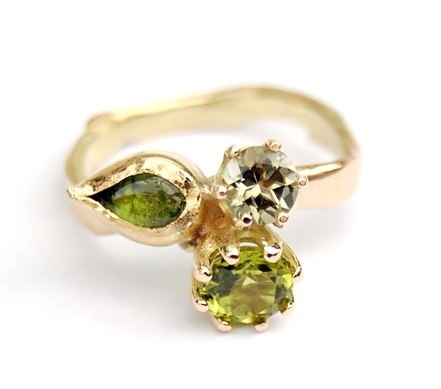 Green & Gold Ring