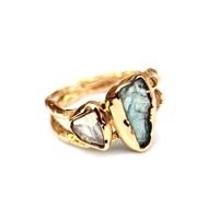Apatiet diamant ring