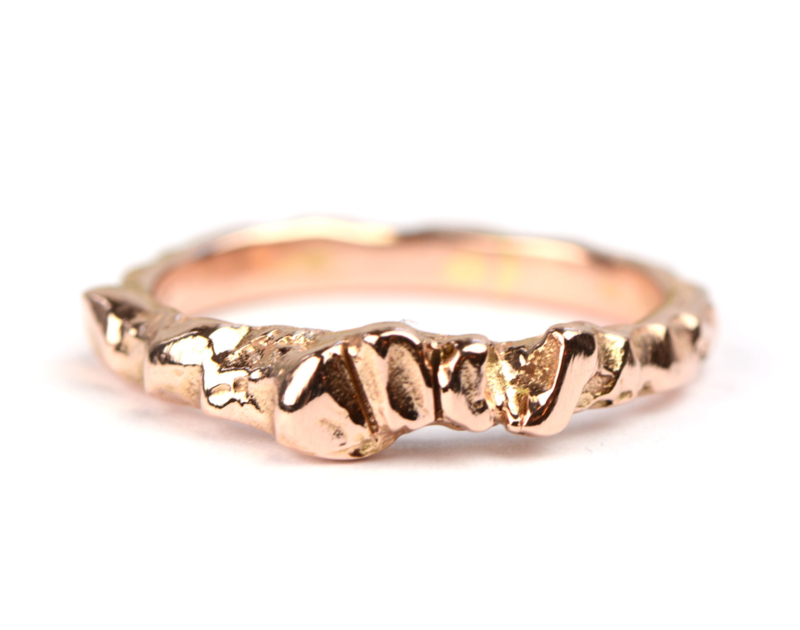 Grillige kristal ring