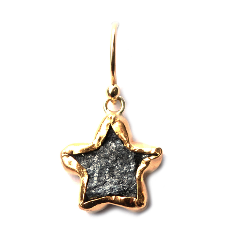 Single Star Earring