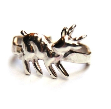 Lief hertje ring