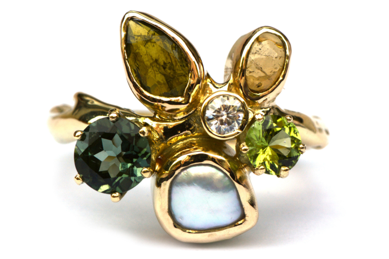 Bouquetring voor A.