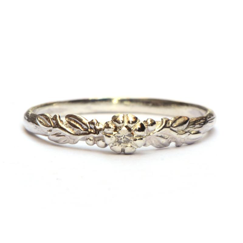 Zilveren ring Rosa Nora