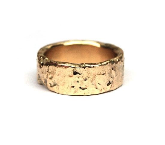 Wonderbaarlijk Brede gouden ring | Voor hem | Nadine Kieft Jewelry Online Shop EC-09