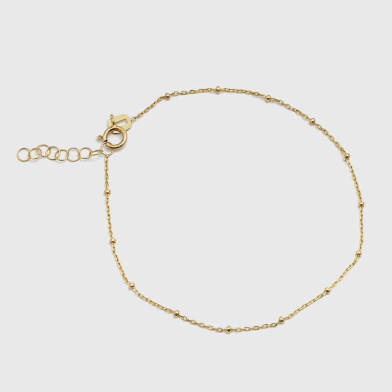Fijne bamboe armband 0,9 mm dik