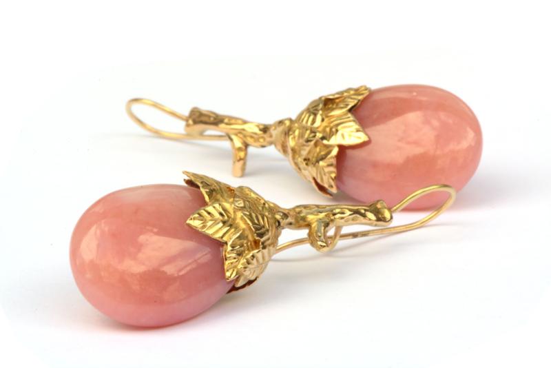 Paradijshangers met roze opaal
