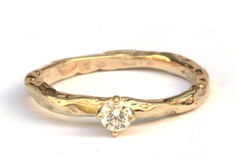 Grillige verlovingsring