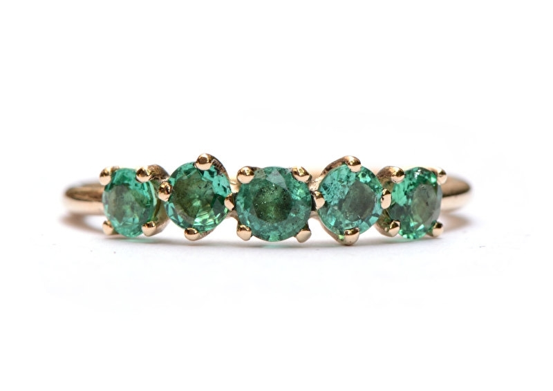 Ring Emma Emerald
