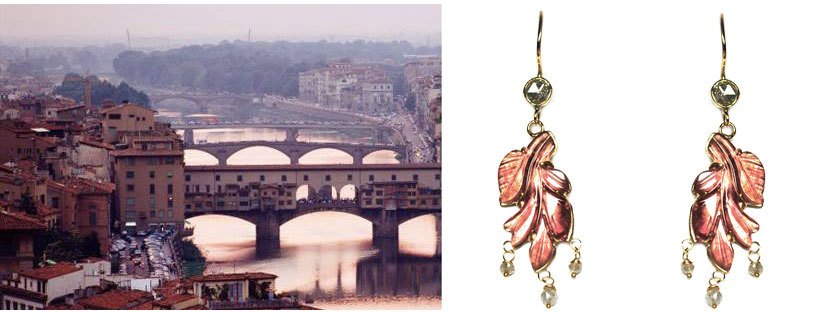 Sieraden expositie in Florence