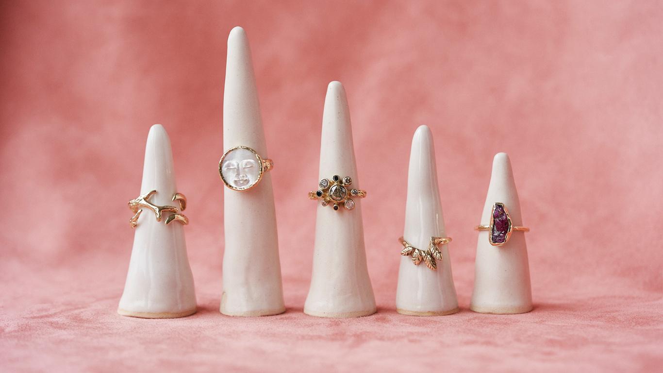 Ringen pink cones