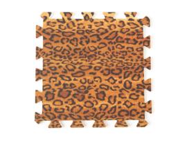 Spielmatte Leopard / 9-teilig (30 x 30 x 1,2 cm)