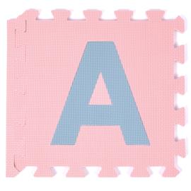 Spielmatte Alphabet/Nummern/Figuren PASTEL 3,6 m² / 40-teilig (30 x 30 x 1,2 cm)