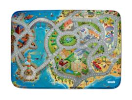 SALE! Ultra weiche Spielmatte/Spielteppich Verkehr (70 x 95 cm)