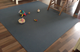 Faltbare Spielmatte (175 x 175 x 0,5 cm) blau oder grau