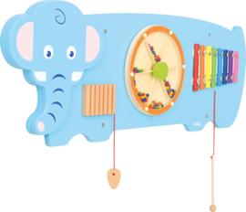 Wandspiel/Wandapplikation Elefant (91 x 31,5 cm)